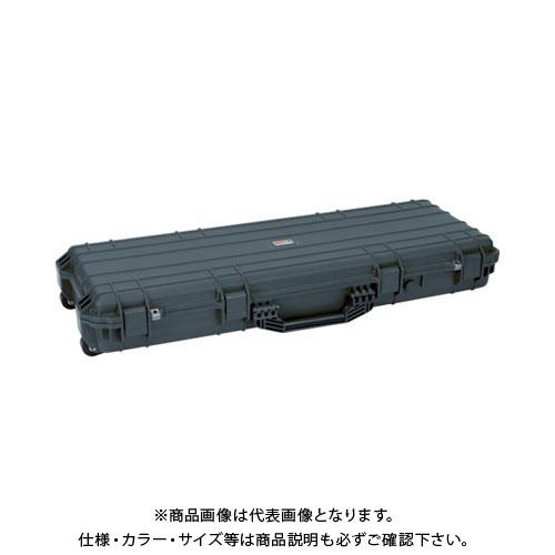 【運賃見積り】【直送品】 TRUSCO プロテクターツールケース(ロングタイプ) 黒 TAK-975BK
