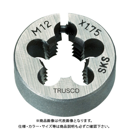 TRUSCO 丸ダイス 63径 M30×3.5 (SKS) T63D-30X3.5