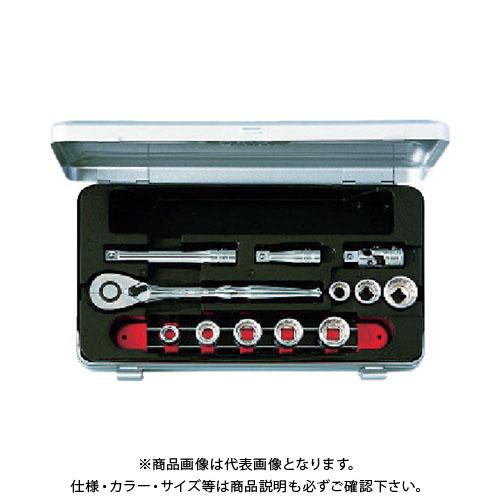 KTC 9.5sq.ソケットレンチセット[12点] TB308BX