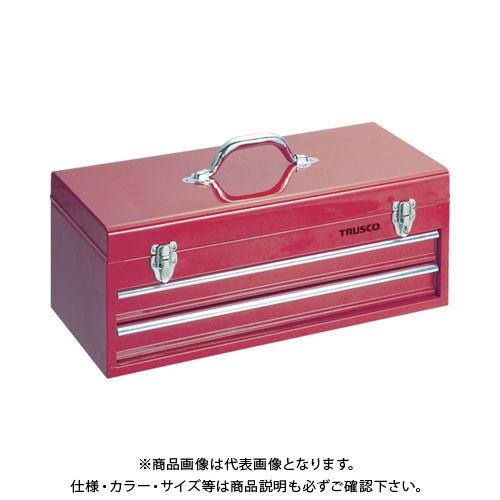 【個別送料1000円】【直送品】 TRUSCO キャビネットツールボックス 533X241X219 TCBOX-2R