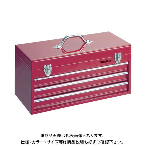 【個別送料1000円】【直送品】 TRUSCO キャビネットツールボックス 533X241X273 TCBOX-3R