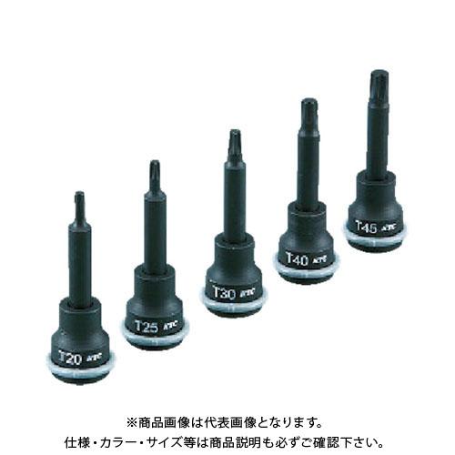 KTC 9.5sq.T型インパクトトルクスレンチセット[5コ組] TBTP305T