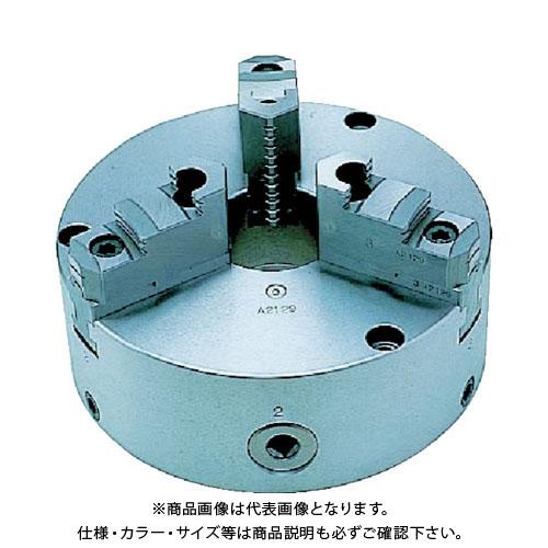 【直送品】ビクター 芯振れ調整型3爪スクロールチャック TC6A 6インチ 分割爪 TC6A