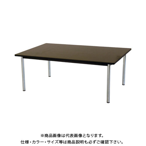 【運賃見積り】【直送品】 TOKIO ミーティングテーブル 角型 1800×1200mm ローズ TC-1812:RO
