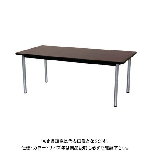 【運賃見積り】【直送品】 TOKIO ミーティングテーブル 角型 1800×900mm ローズ TC-1890:RO