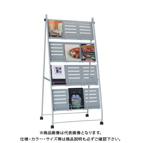 【運賃見積り】【直送品】 TRUSCO カタログスタンド A4幅広サイズ対応 3列4段型 TCS-34