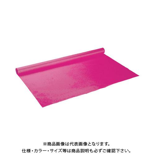【運賃見積り】【直送品】 TRUSCO 火花養生シート 両面シリコンコーティング 1mX10m バラ色 TCGB-R-10M