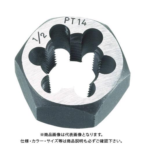TRUSCO 六角サラエナットダイス PT7/8-14 TD6-7/8PT14