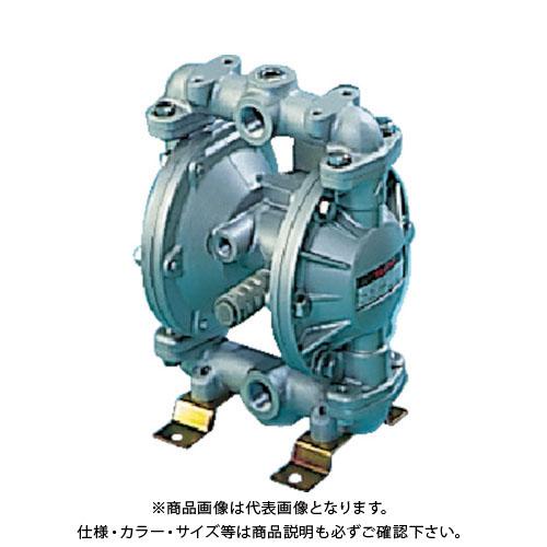 【直送品】TAIYO ダイヤフラムポンプ 吐出量:13L/min ポンプ口径:Rc1/4 TD-08AF