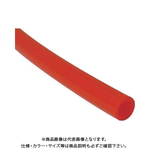 【運賃見積り】【直送品】チヨダ TEタッチチューブ 16mm/100m 赤 TE-16-100 R