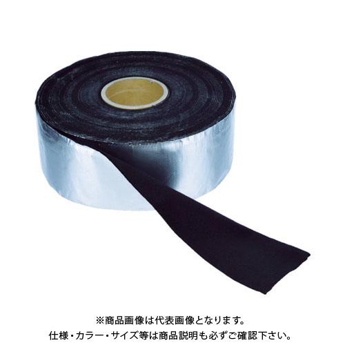 TRUSCO アルミ箔耐炎フェルトテープ 厚み4mmX幅95mmX長さ9m TFA-41010