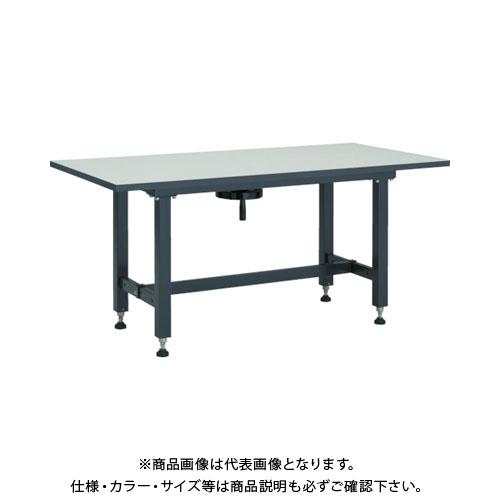 【直送品】TRUSCO ハンドル昇降式作業台 1200X750XH700-900 TKSS-1275H