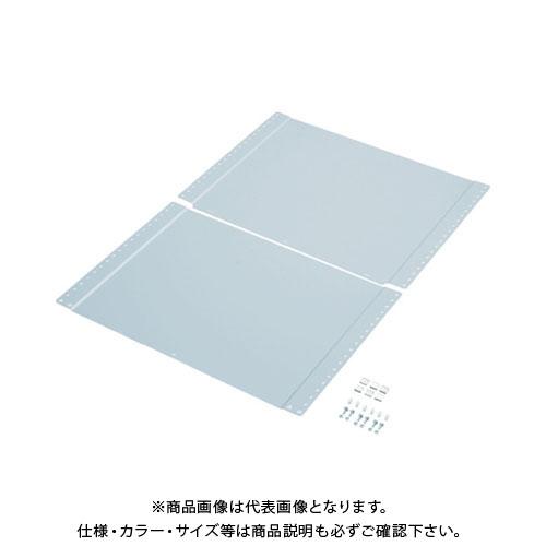 【個別送料1000円】【直送品】 TRUSCO 軽量150型ボルトレス棚用背板 1800XH1200 TLA-S46
