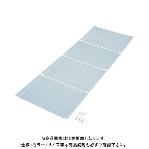 【個別送料1000円】【直送品】 TRUSCO 軽量150型ボルトレス棚用背板 1800XH2100 TLA-S76