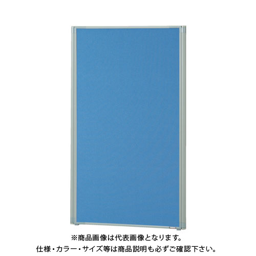 【直送品】 TRUSCO ローパーティション 全面布張り W800XH1165 ブルー TLP-1208A-B