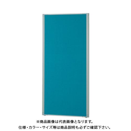 【直送品】 TRUSCO ローパーティション 全面布張り W600XH1465 ブルー TLP-1506A-B
