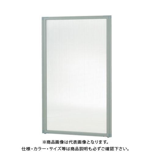 TRUSCO ローパーティション W1200XH1765 【直送品】 全面半透明 TLP-1812F