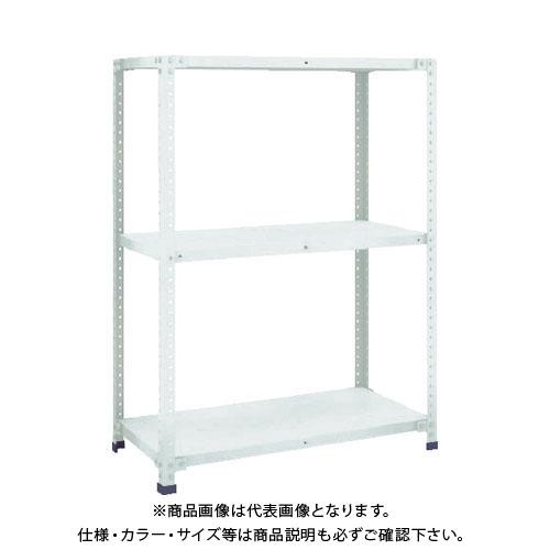 【直送品】 TRUSCO 軽量150型開放棚 W1200XD300XH1200 3段 TLA44K-13