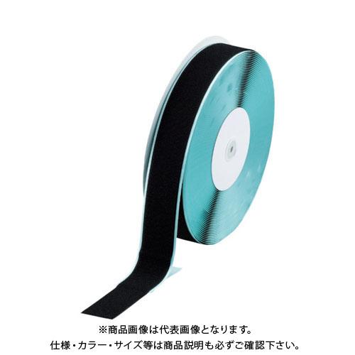 TRUSCO マジックテープ TMAN-5025-BK 糊付A側 幅50mmX長さ25m 糊付A側 幅50mmX長さ25m 黒 TMAN-5025-BK, コンタクトレンズショップ Oculus:9039f22c --- artmozg.com