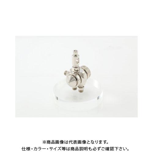 アネスト岩田 液体塗布用自動スプレーガン(小形 丸吹) ノズル口径0.5mm TOF-6RB-05