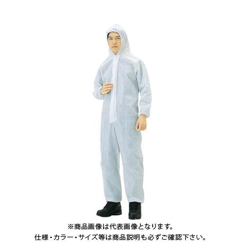 【運賃見積り】【直送品】TRUSCO まとめ買い 不織布使い捨て保護服L (40着入) TPC-L-40