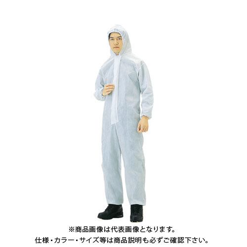 【運賃見積り】【直送品】TRUSCO まとめ買い 不織布使い捨て保護服LL (40着入) TPC-LL-40
