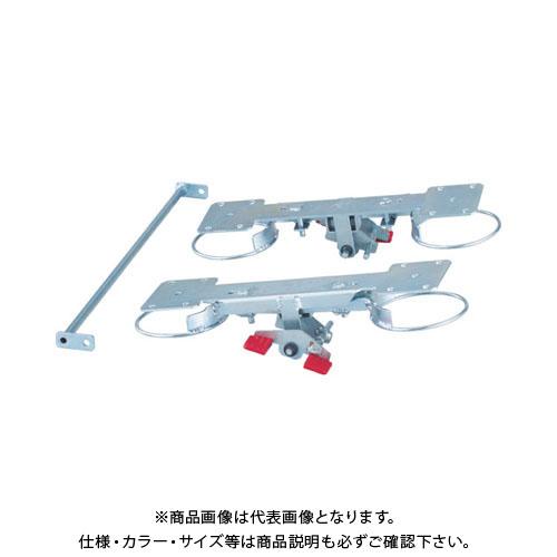 TRUSCO グランカート用リング式 自在4輪ストッパー TP-800JRS-4