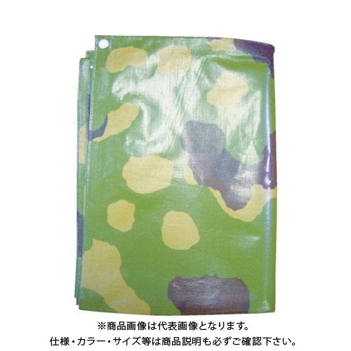 萩原 #4000 迷彩シート 3.6m×5.4m TPMIS3654