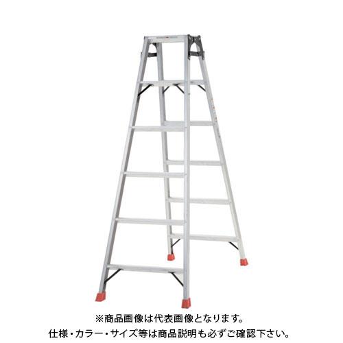 【個別送料1000円】【直送品】 TRUSCO はしご兼用脚立 アルミ合金製脚カバー付 高さ1.69m TPRK-180