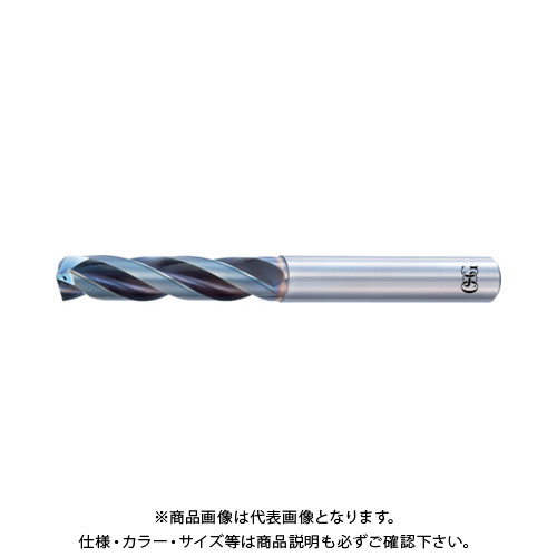 OSG 超硬油穴付き3枚刃メガマッスルドリル3Dタイプ 8660910 TRS-HO-3D-9.1