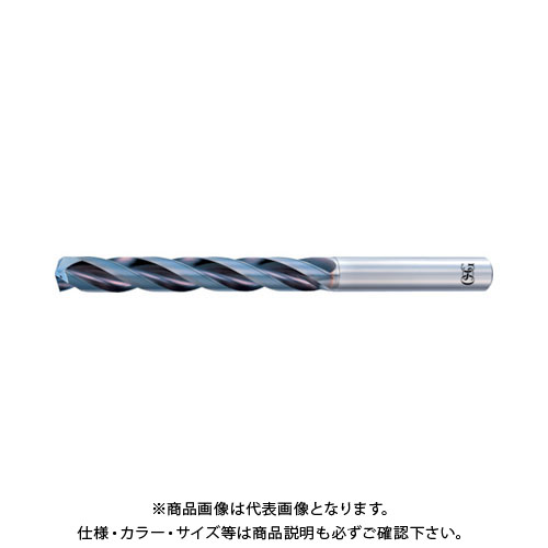 OSG 超硬油穴付3枚刃メガマッスルドリル(内部給油タイプ) 8663440 TRS-HO-5D-14.4