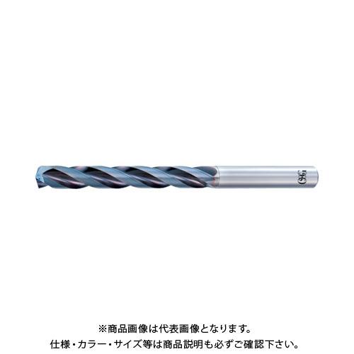 OSG 超硬油穴付3枚刃メガマッスルドリル(内部給油タイプ) 8662990 TRS-HO-5D-9.9