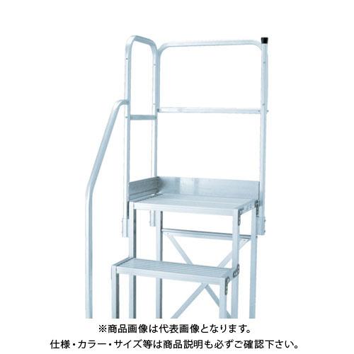 TRUSCO H1100 階段片手すり天場二方 TSF-3675/4610用 TSF-TE14-11H-250