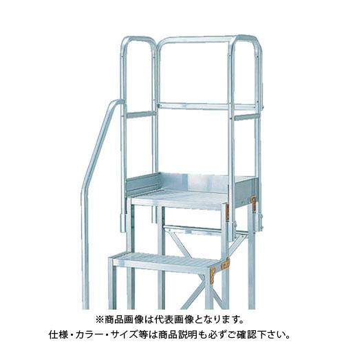 TRUSCO H1100 階段片手すり天場三方 TSF-3675/4610用 TSF-TE6-11H-250