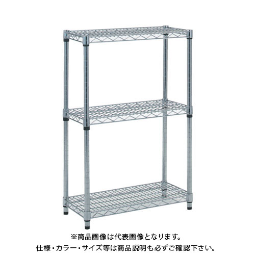 TRUSCO ステンレス製メッシュラック H923XW605XD457 3段 TSM-3243
