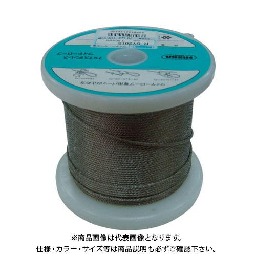 ニッサチェイン ステンレスワイヤーロープ 1.0mm×150m TSY-10-150