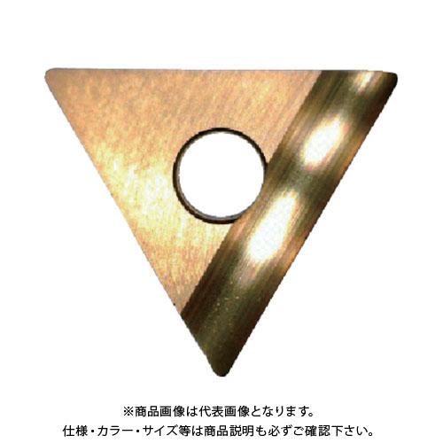 富士元 C面取り用精密級チップ 超硬M種 TiNコーティング COAT 12個 TT32GUR:NK3030