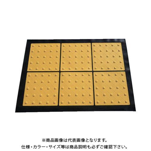 TRUSCO 折り畳み式点字マット 300角ポイントタイプ TTMP-300