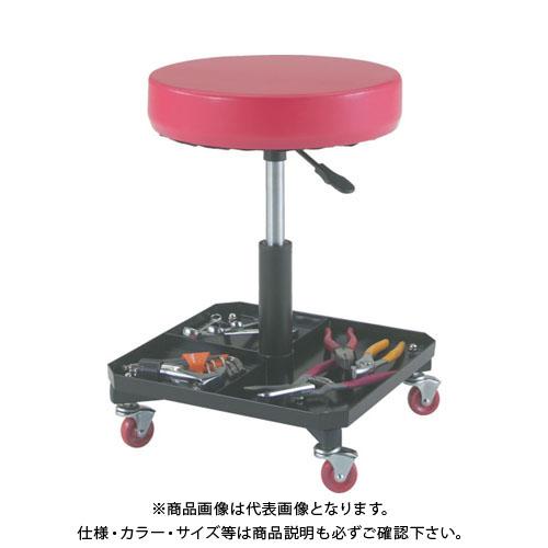 TRUSCO 工具入れ付作業椅子 Φ370XH440ー555 TWC-S