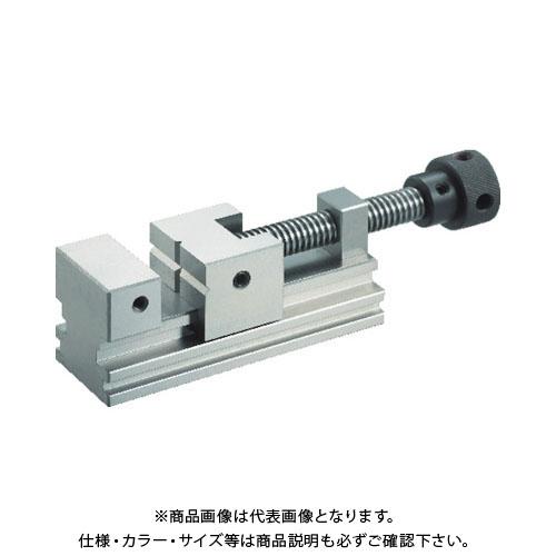 TRUSCO 精密バイス 75mm 浮き上がり防止構造タイプ TVD-75A