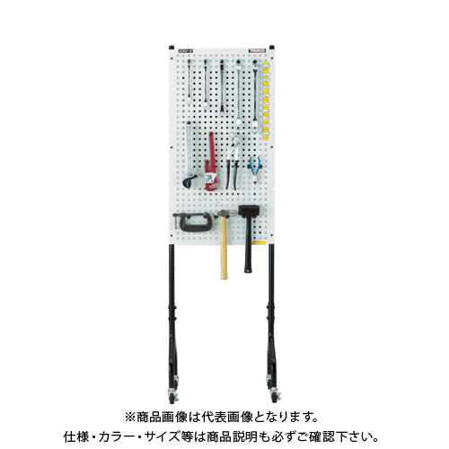 【個別送料1000円】【直送品】 TRUSCO ライトパンチングパネル パネリーナ両面式 キャスター付 TUR-2C