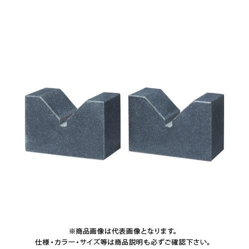 【直送品】TSUBACO 石製Vブロック100X60X40 TV-10060