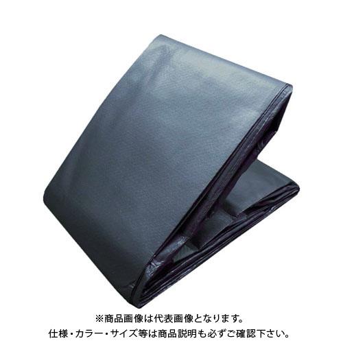 TRUSCO エコ超厚手UVシ-ト#5000 メタリックシルバー TUV5000MS-7290
