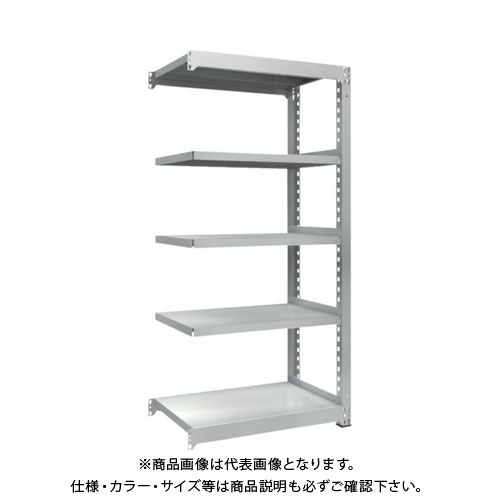 【運賃見積り】【直送品】 TRUSCO TZM3型中量棚 900X571XH1800 5段 連結 TZM3-6365B