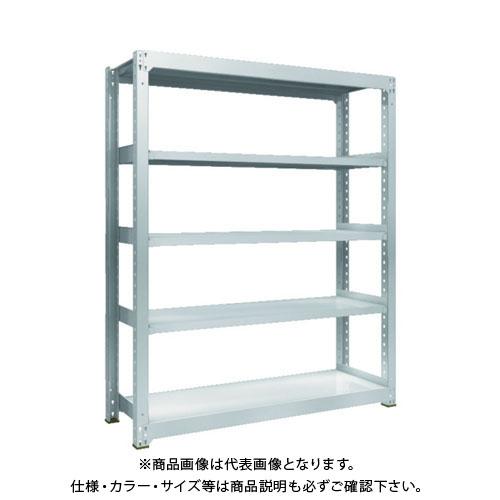【運賃見積り】【直送品】 TRUSCO TZM3型中量棚 1500X471XH1800 5段 単体 TZM3-6555