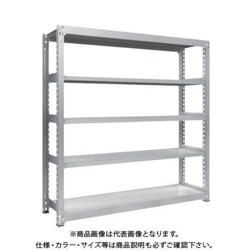 【運賃見積り】【直送品】 TRUSCO TZM3型中量棚 1800X471XH1800 5段 単体 TZM3-6655