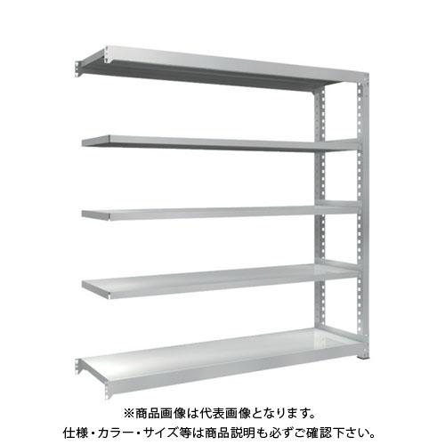【運賃見積り】【直送品】 TRUSCO TZM3型中量棚 1800X471XH1800 5段 連結 TZM3-6655B