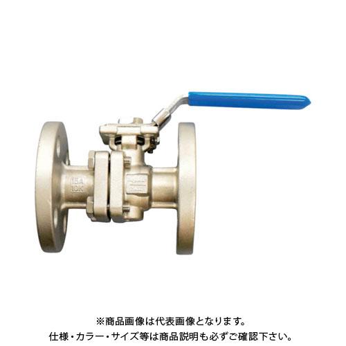 フジキン ステンレス鋼製1MPaフランジ式2ピースボール弁80A(3) UBV-21-J10R-K-ALX