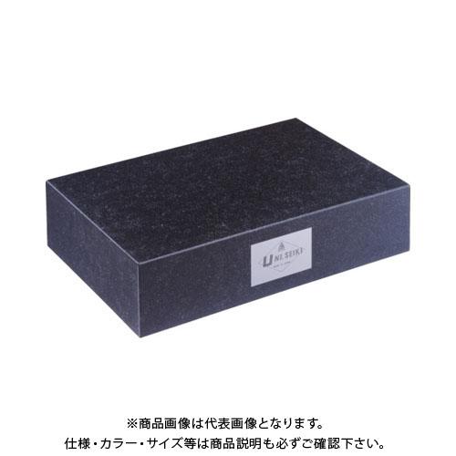 【運賃見積り】【直送品】ユニ 石定盤(1級仕上)450x600x100mm U1-4560