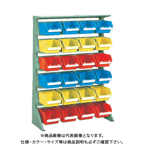 【個別送料1000円】【直送品】 TRUSCO 重量コンテナラック H1265 T5X24 U-1260